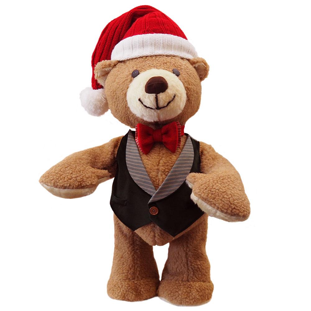 Bobby the animatronic teddy bear