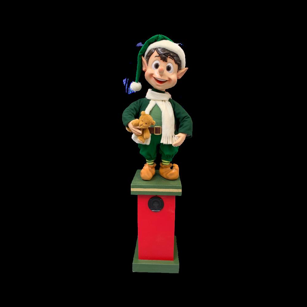 0006-T console w figure elf
