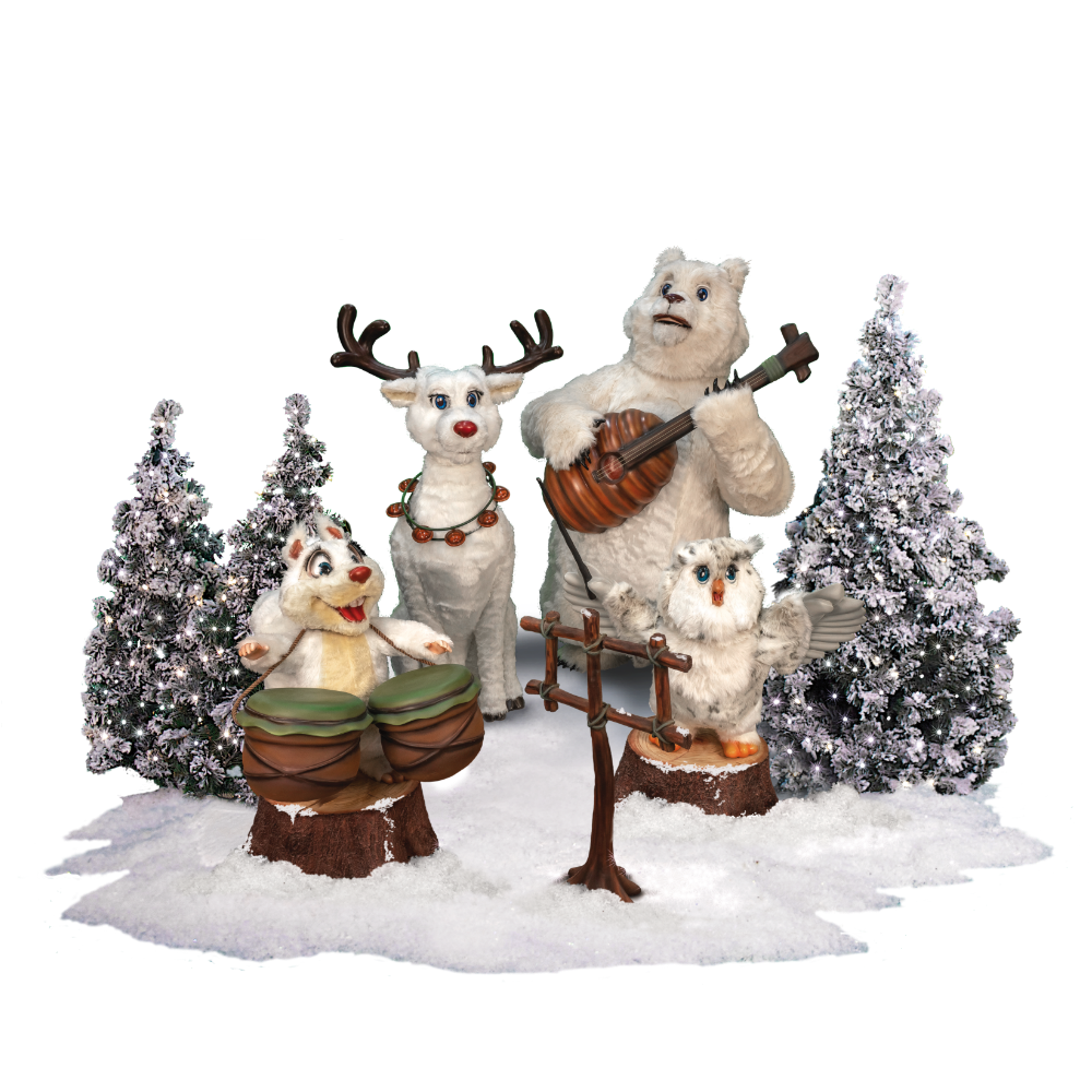 0365 winter forest band