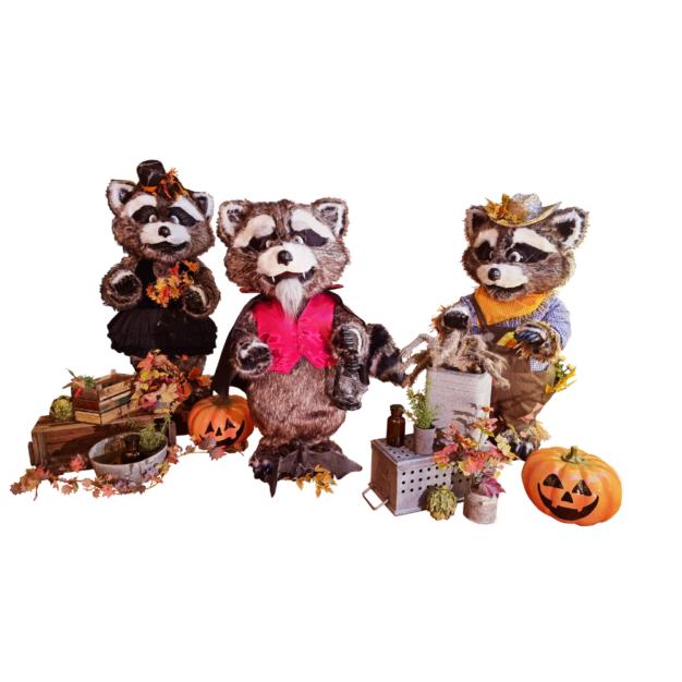 Our Animatronic Raccoon Halloween Band